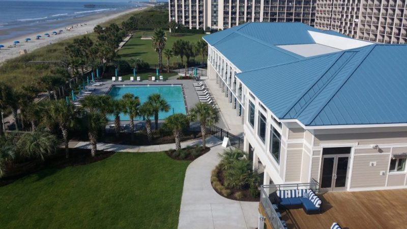 Private Cabanas Unveiled at SC Beach Resort