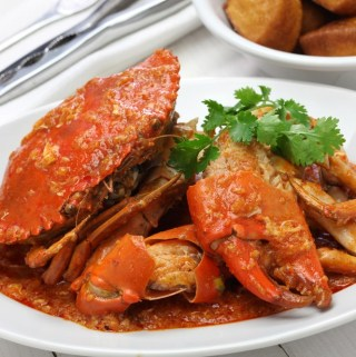 Seafood, The Vietnamese Way Fried Crabs With Chili Sauce Recipe
