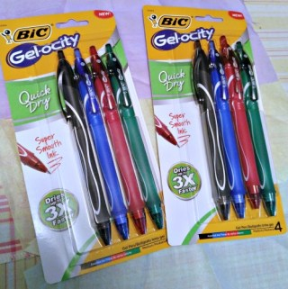 Get Ready For School With BIC® And Their Gel-ocity Or Velocity