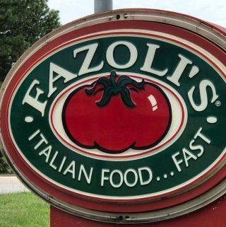 One Of Our Favorite Road Trip Spots~ Fazoli's® Italian Food…Fast