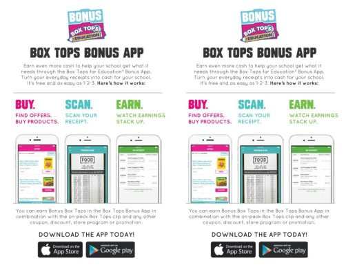 How the Box Tops App Works