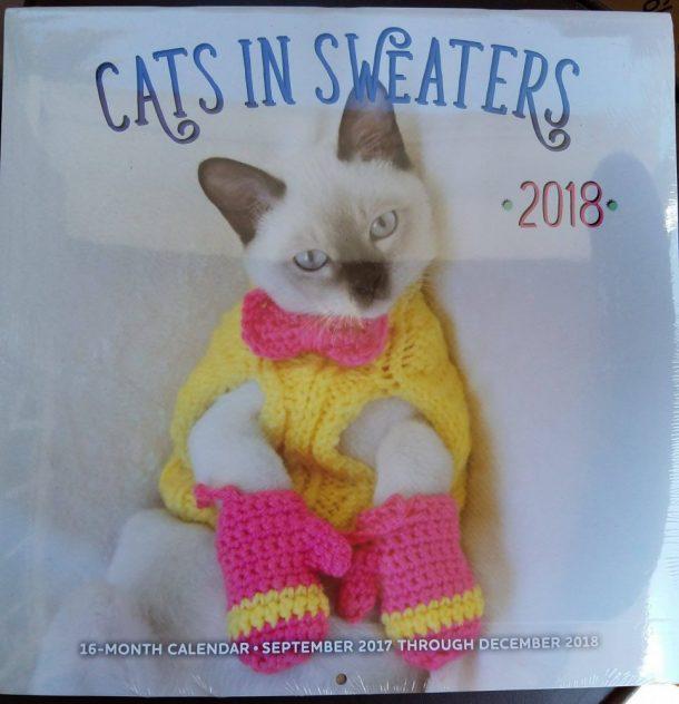 Coolest Cat Calendars for 2018