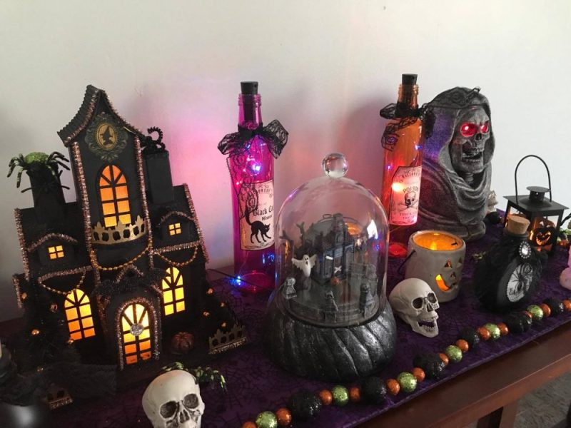 At Home Provides For All Your Halloween Decor Ideas -Decorate on a Budget