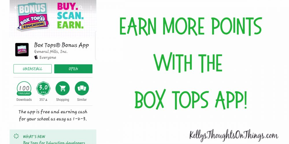 Download the Box Top App- Earn more for your school