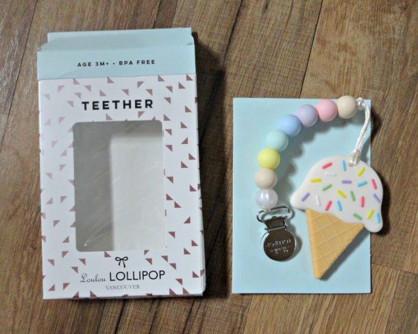 Ice Cream Teething toy