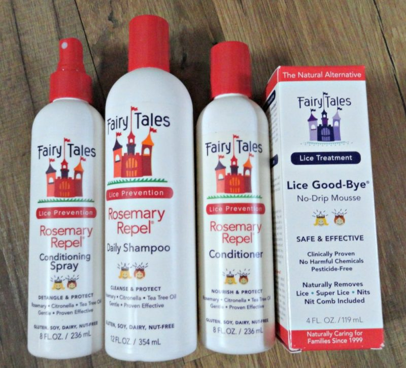 Fairy Tales prevent lice breakouts naturally