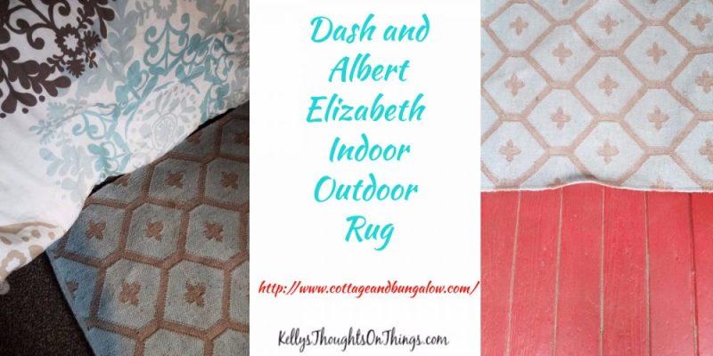 Dash and Albert Elizabeth Indoor Outdoor Rug