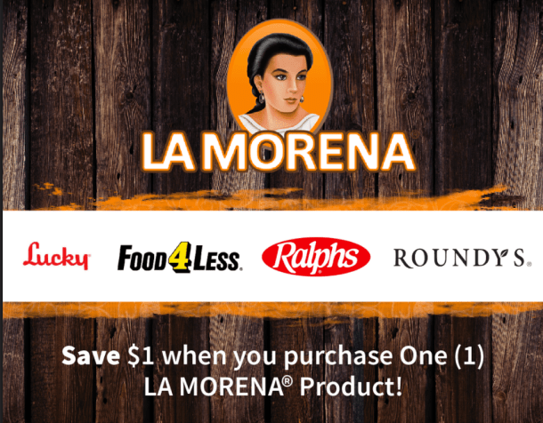 LA MORENA® Load to Card and Print at Home Coupon #VivaLaMorena #RediscoverLaMorena #ad