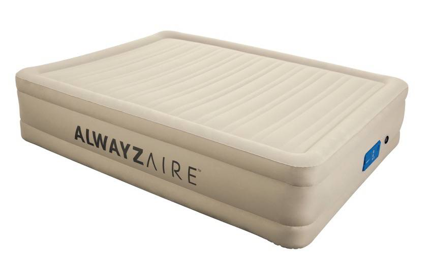 6 Tips For Hosting Guests-Fortech Airbed (Queen) with an AlwayzAire Pump from Bestway. Your guests will get a beautiful night sleep, probably better if they stayed in a hotel!