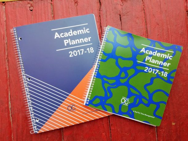 Academic Planner: A Tool for Time Management from Order Out Of Chaos- Backpacks must haves!