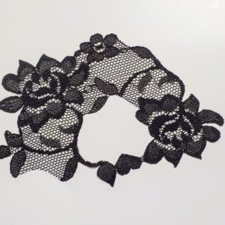 Halloween Giveaway: Mask from Lace and Waisted!
