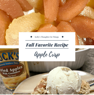 Fall Favorite Recipe ~ Apple Crisp