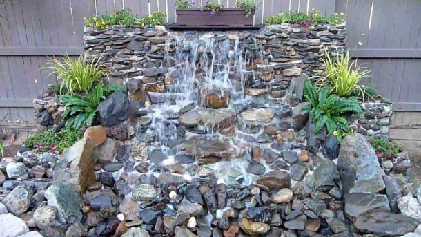 Adorn Your Garden with Backyard Waterfalls - DIY Ideas