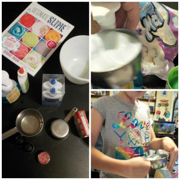 Let's Make Slime book