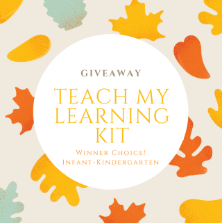 Holiday Giveaway: Deluxe Teach My Kit ends 11/9