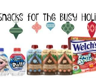 On the Go Snacks for the Busy Holiday Season