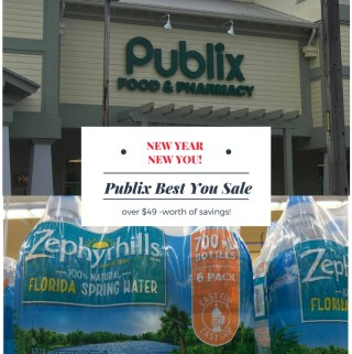 Publix BEST YOU Sale- Save Up To $49