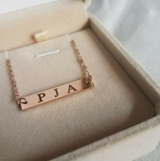 Looking for the Perfect Mother's Day Gift?  Why Not A Monogram Necklace!