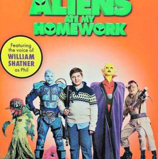 """William Shatner Is Back in """"Aliens Ate My Homework"""""""