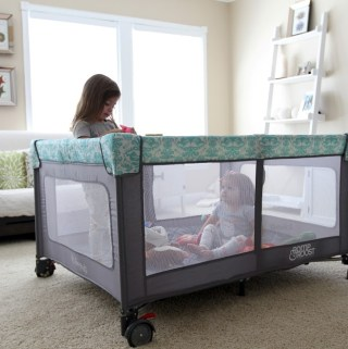 Provide a Safe Home and Let the Romp & Roost Playpen Save The Day