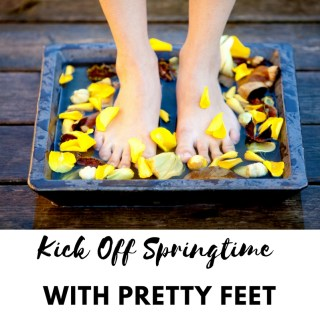 Kick Off Springtime With Pretty Feet