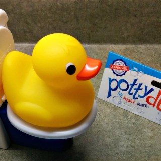 The Potty Duck Can Make Potty Training Fun!