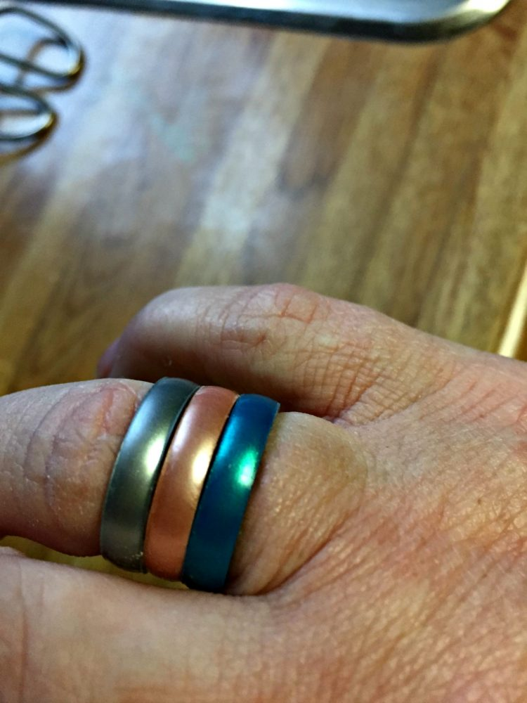 Enso Rings Has Beautiful Stackable Silicone Rings