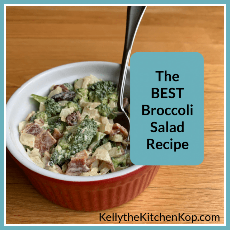 best broccoli salad recipe with grapes