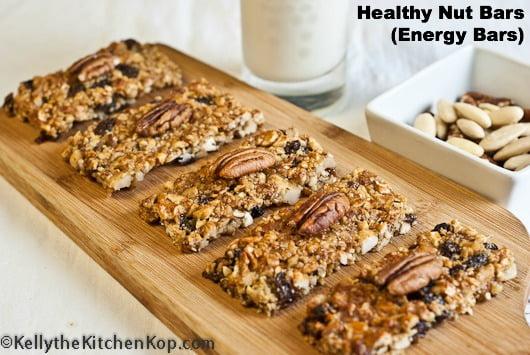 Healthy Nut Bar Recipe