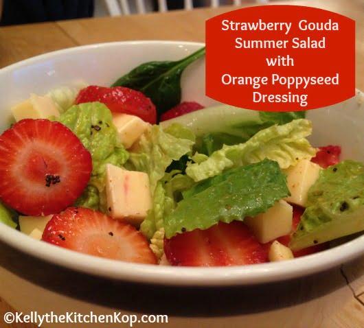 Strawberry Gouda Summer Salad