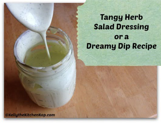 Tangy Herb Salad Dressing
