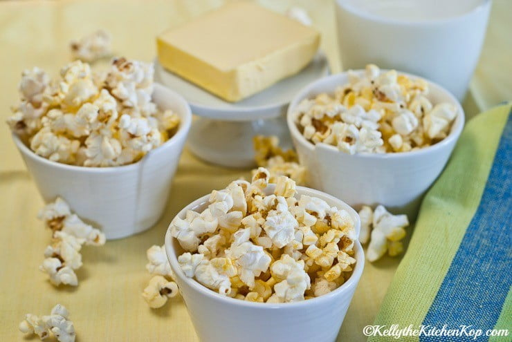 kettle corn with coconut oil