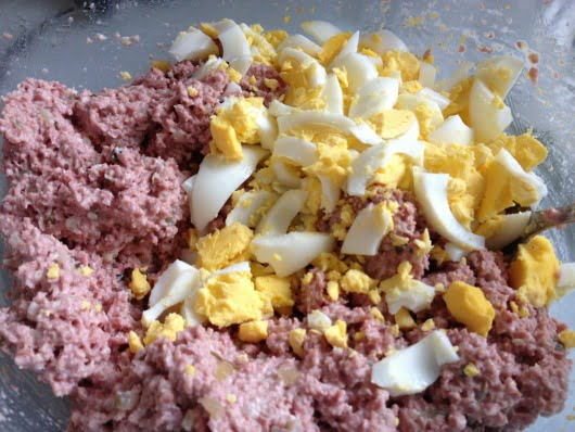 Bologna Mix Recipe with egg