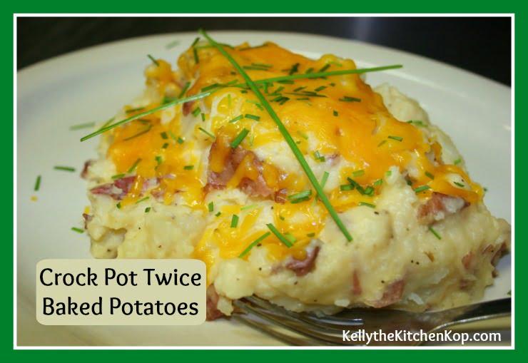 Crock Pot Twice Baked Potatoes Recipe