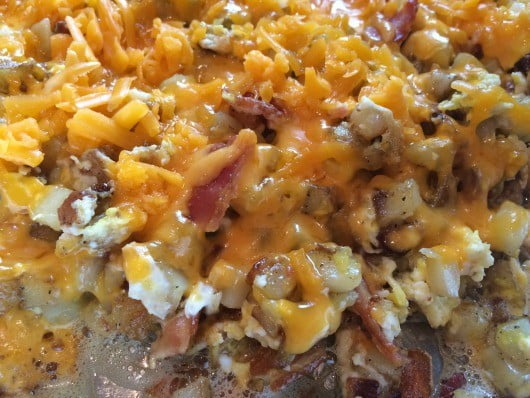 skillet recipe melted cheese