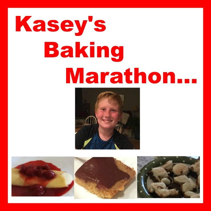 Kasey on Food Network