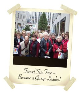 Group Leaders Travel for Free!