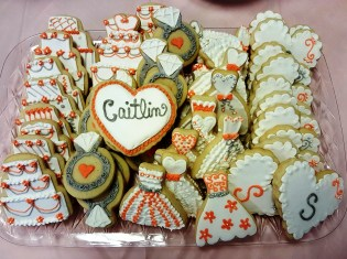 Bridal Shower PP 10 cookies
