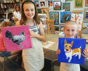 Kids Pet Portraits June 2