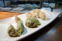 Dumplings go very quickly! (see gaps!)