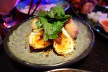 Eggs of judgment - deep fried eggs ($8.90)