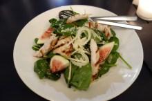 Chicken, fennel, apple, fig and quinoa salad