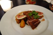Duck and figs