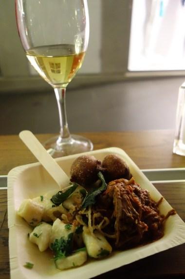 Gnocchi with meaty ragu and sage