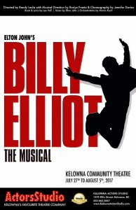 Kelowna Bucket List - Billy Elliot