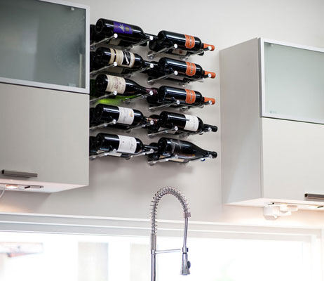 VintageView wine storage and wine displays for your home in Kelowna.