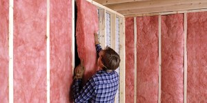Batten insulation in Kelowna.