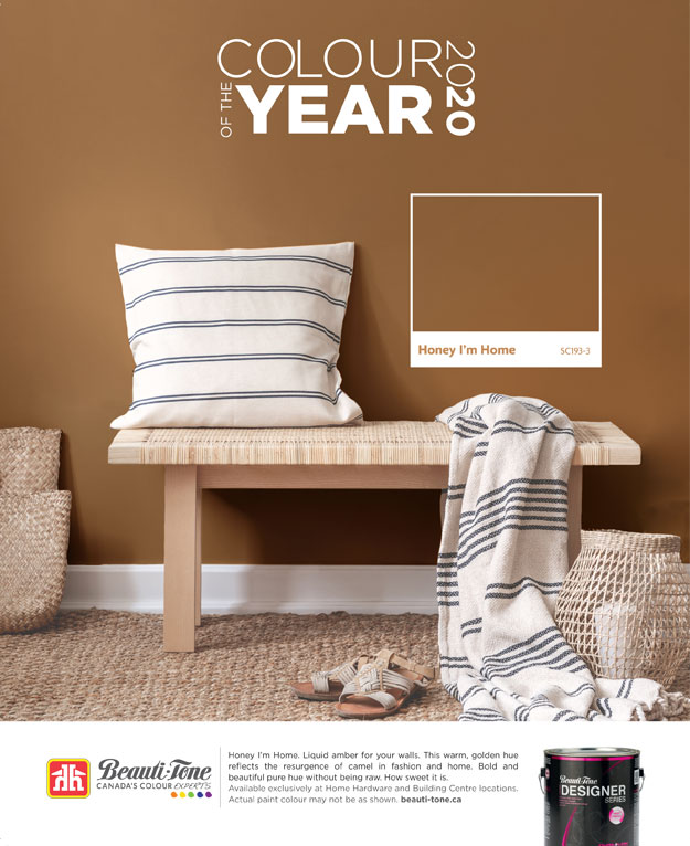 Win a $100 gift card at Kelowna Home Hardware during our Colour of the Year contest.