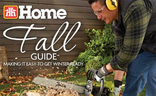 Fall Guide at Kelowna Home Hardware.