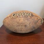 Vintage Minnesota Vikings signed football